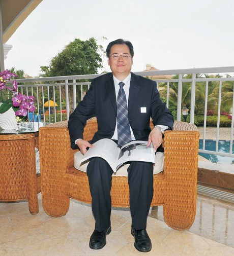 阮麟书――十大最佳CEO